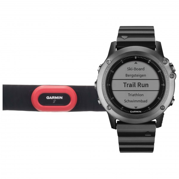 Garmin - Fenix 3 Performer Bundle - Multifunktionsuhr