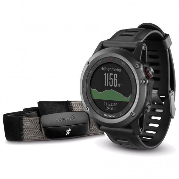 Garmin - Fenix 3 Performer Bundle - Multi-function watch