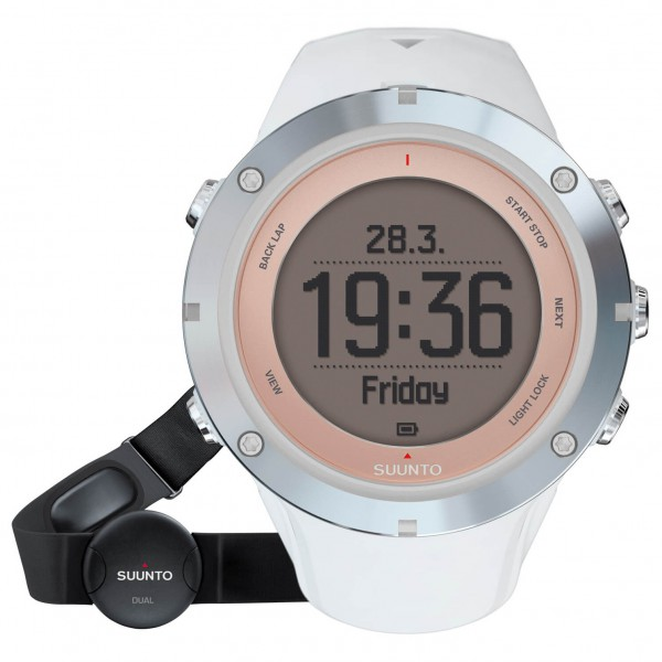 Suunto - Ambit 3 Sport Sapphire HR - Multi-function watch