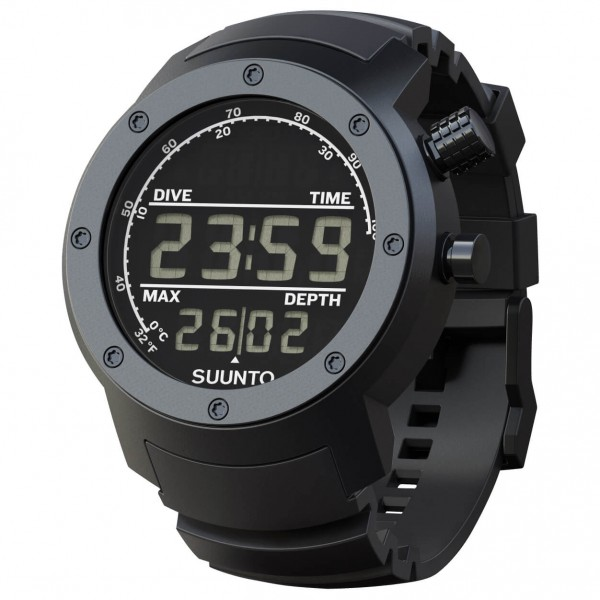 Suunto - Elementum Aqua Black Rubber - Multi-function watch