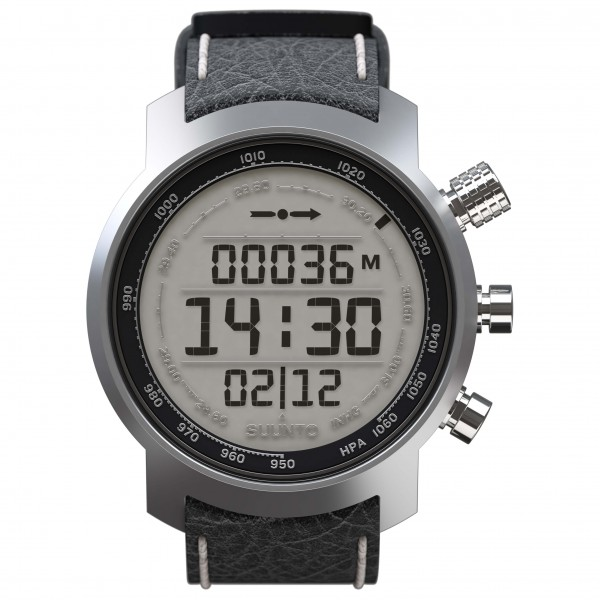 Suunto - Elementum Terra Black Leather - Multifunctioneel ho