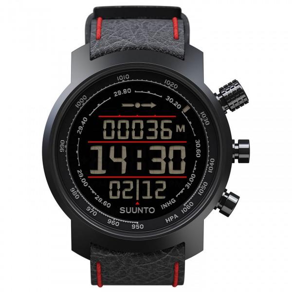 Suunto - Elementum Terra Red Leather - Multi-function watch