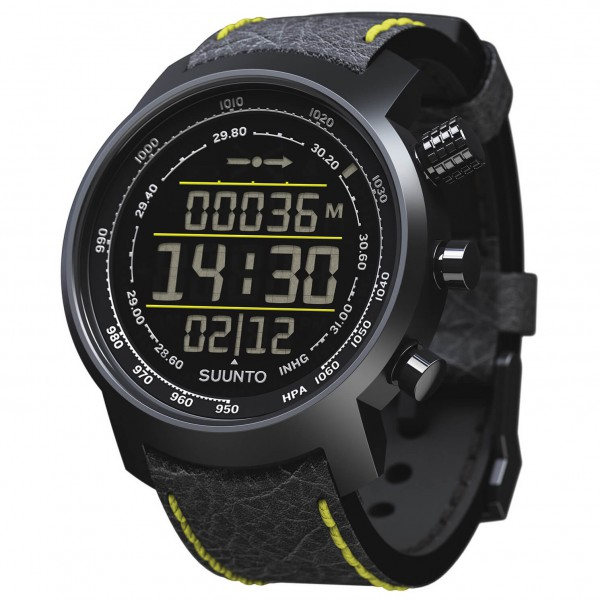 Suunto - Elementum Terra Yellow Leather - Multi-function wat