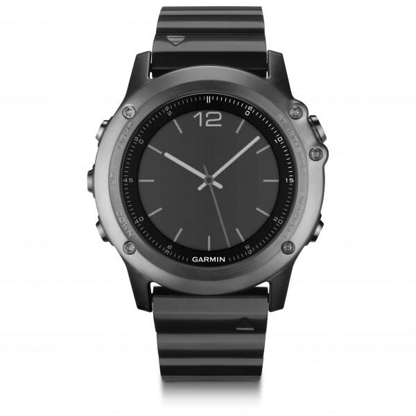 Garmin - Fenix 3 Saphir Grau - Reloj multifunción