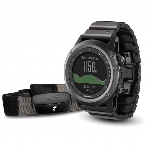 Garmin - Fenix 3 Saphir Performer Bundle - Multi-function wa