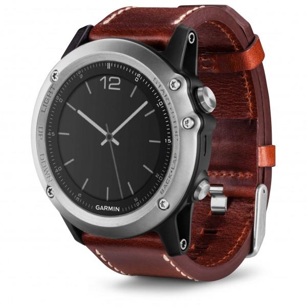 Garmin - Fenix 3 Saphir Silber - Multifunctioneel horloge