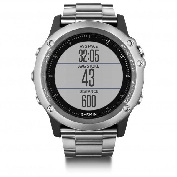 Garmin - Fenix 3 Saphir Titanium - Multi-function watch