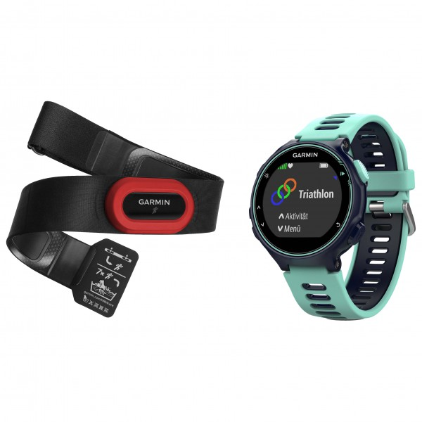 Garmin - Forerunner 735XT Run Bundle - Multi-function watch