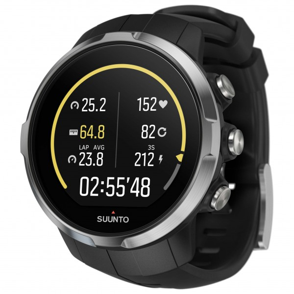 Suunto - Spartan Sport Black - Multifunktionssklocka