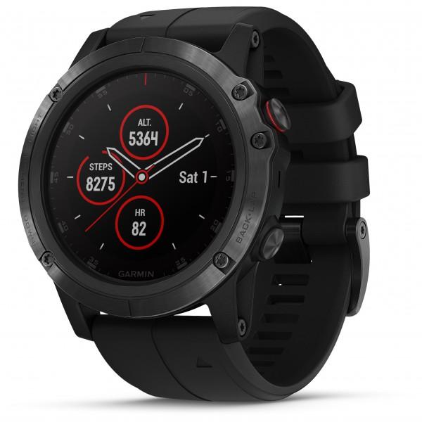 Garmin - Fenix 5X Plus Sapphire - Multifunctioneel horloge