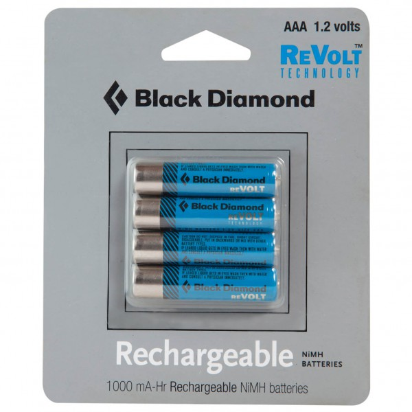 Black Diamond - Rechargeable Battery 4 Pack - Akut