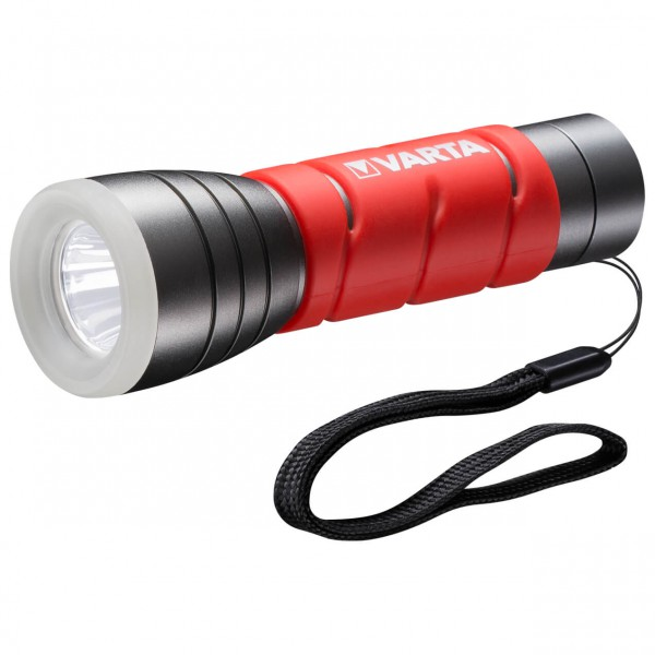 Varta - LED Outdoor Sports Flashlight 3AAA - Lommelykt