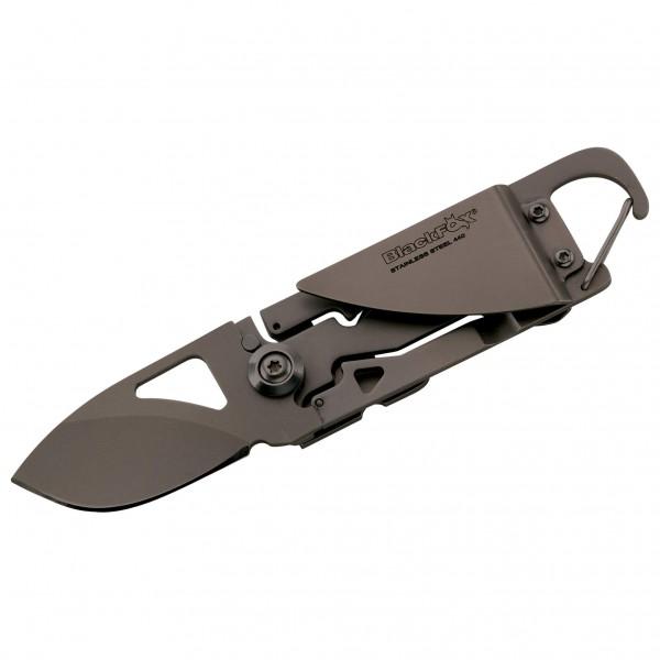 BlackFox - Einhandmesser Ganzstahl - Messer