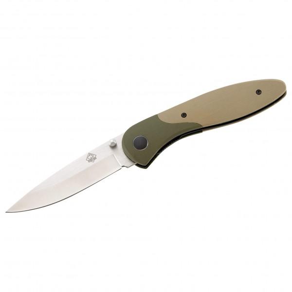 Puma Tec - Couteau pliant G-10 D 2 Olive / Khaki - Couteau