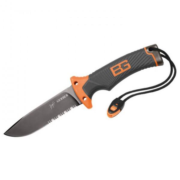 Bear Grylls - Survivalmesser mit Wellenschliff - Couteaux