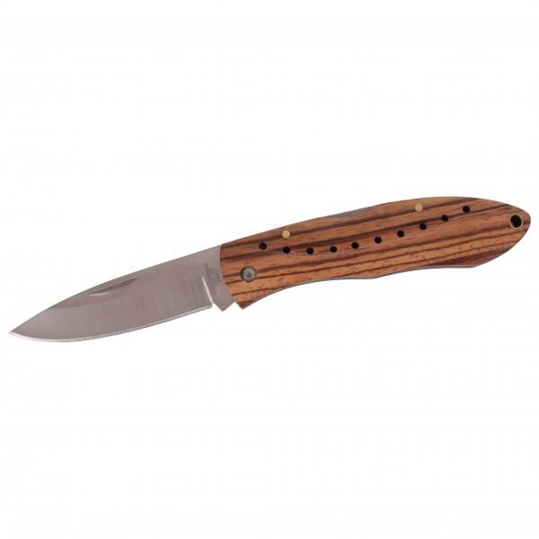 - Taschenmesser Zebra-Holz Back-Lock - Knife