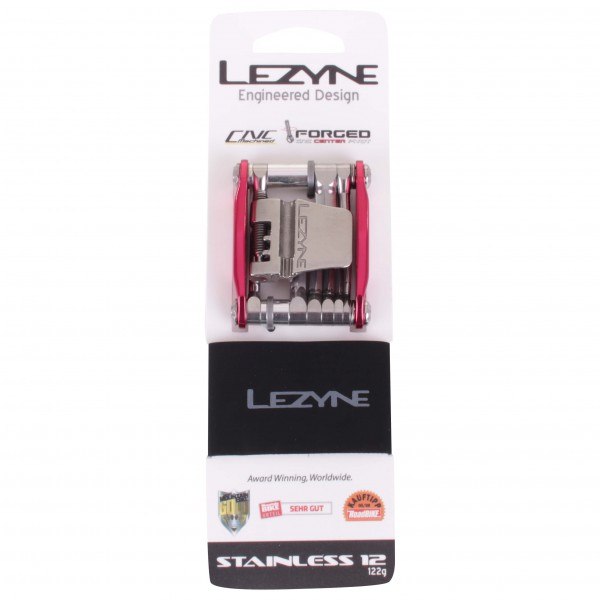 Lezyne - Tool Stainless 12 - Outil multifonction