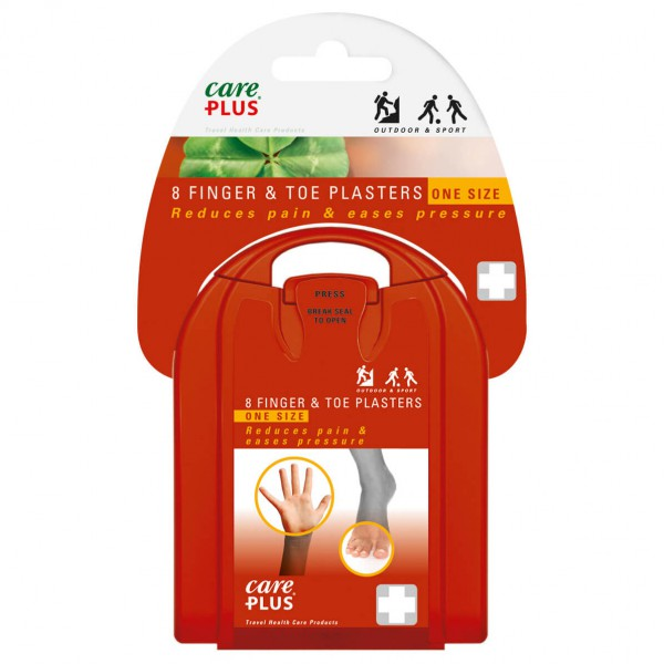Care Plus - Blister Plaster Finger & Toe - Ensiapusetti