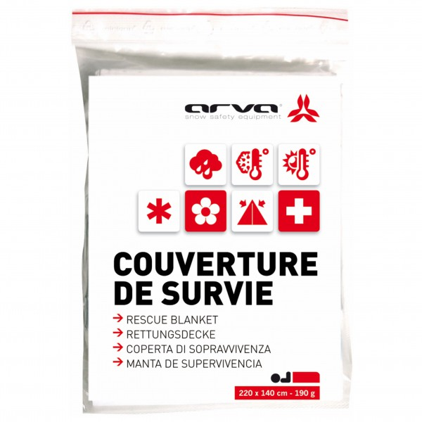 Arva - Rescue Blanket - Kit de premier secours