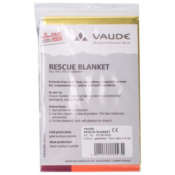 Vaude - Rescue blanket - Pelastuspeite
