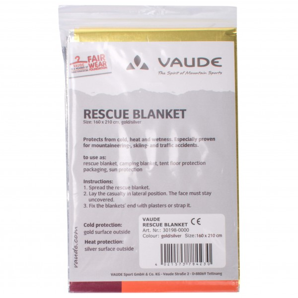 Vaude - Rescue blanket - Rettungsdecke