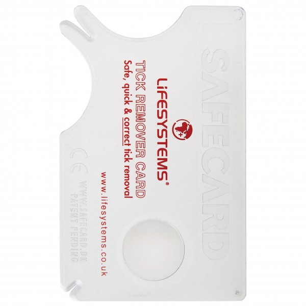Lifesystems - Tick Remover Card - Eerste-Hulpset