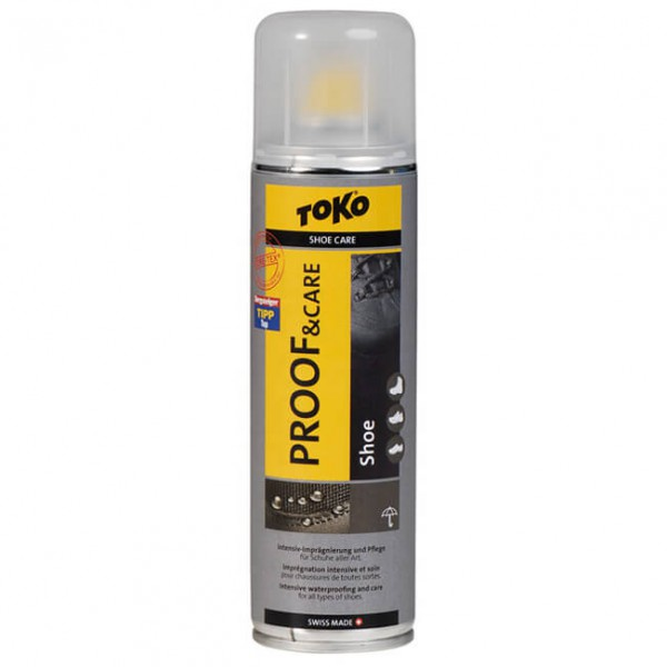 Toko - Proof & Care Shoe 250 ml - Intensieve impregnatie