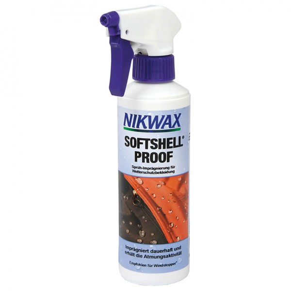 Nikwax - Softshell Proof Spray - Spray imperméabilisant