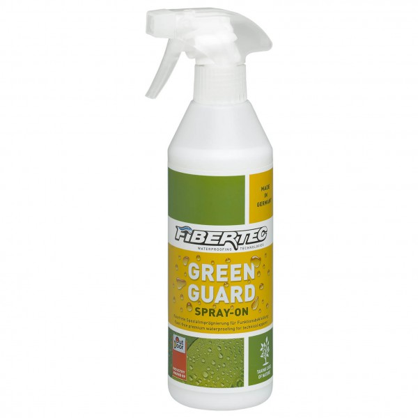 Fibertec - Greenguard Spray-On - Imperméabilisation