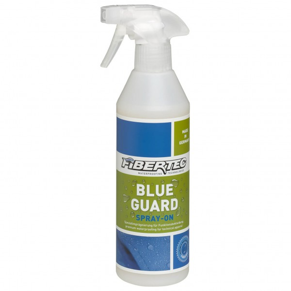 Fibertec - Blueguard Spray-On - Kyllästys