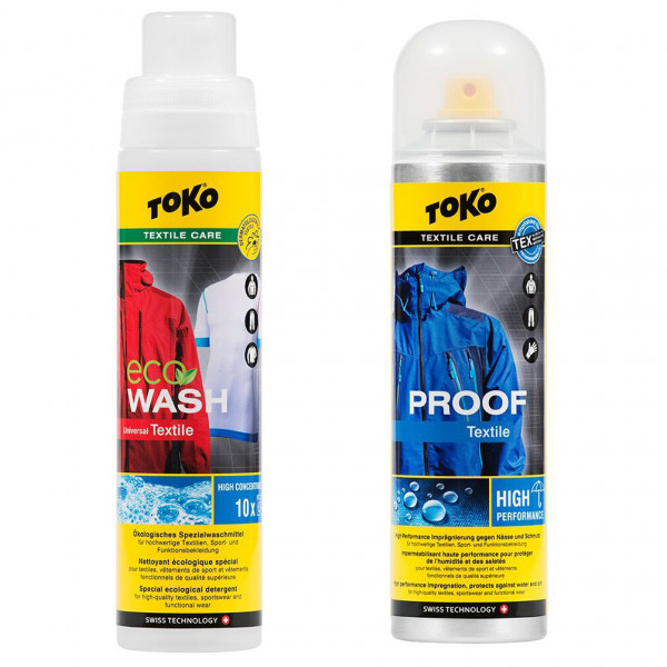 Toko - Duo-Pack Textile Proof & Eco Textile Wash - Vaskemiddel