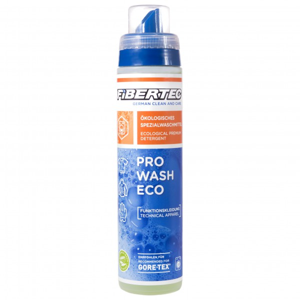 Fibertec - Pro Wash Eco - Detergente especial