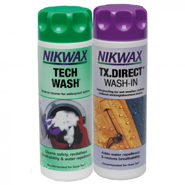 Nikwax - Tech Wash + TX Direct