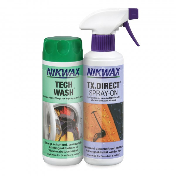 Nikwax - Tech Wash + TX Direct Spray