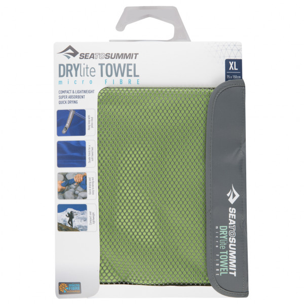 Sea to Summit - DryLite Towel - Serviette en microfibres