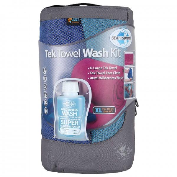 Sea to Summit - Tek Towel Wash Kit - Microfiber towel