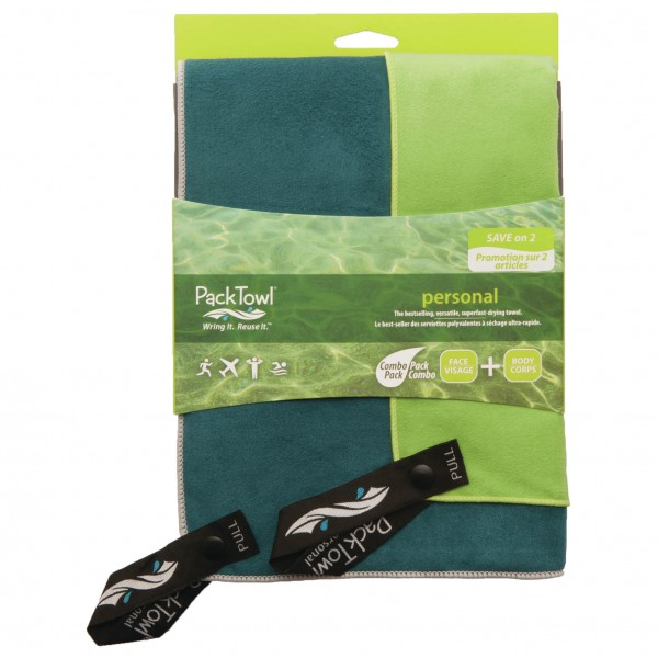 Packtowl - Personal Towel Set 1 - Mikrofiberhåndkle