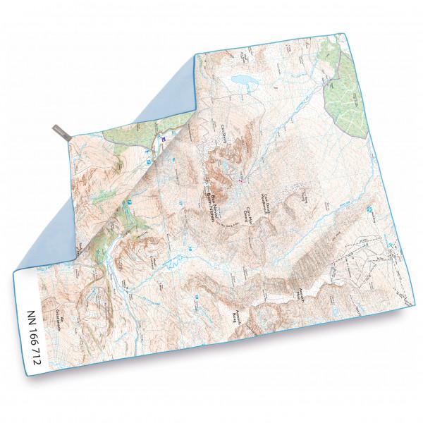 Lifeventure - SoftFibre OS Map Towel - Mikrofaserhandtuch