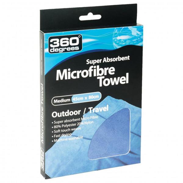 360 Degrees - Microfibre Towel - Mikrofaserhandtuch