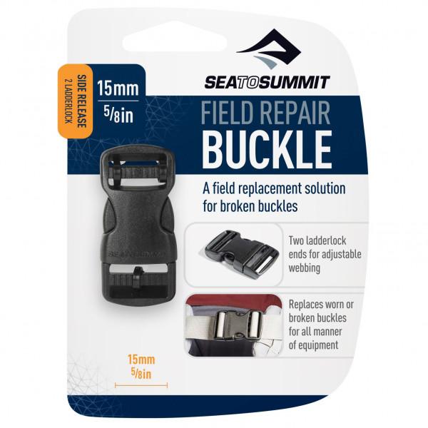 SEA TO SUMMIT FIELD REPAIR BUCKLE 25MM SIDE RELEASE 2 LADDERLOCK BLACK