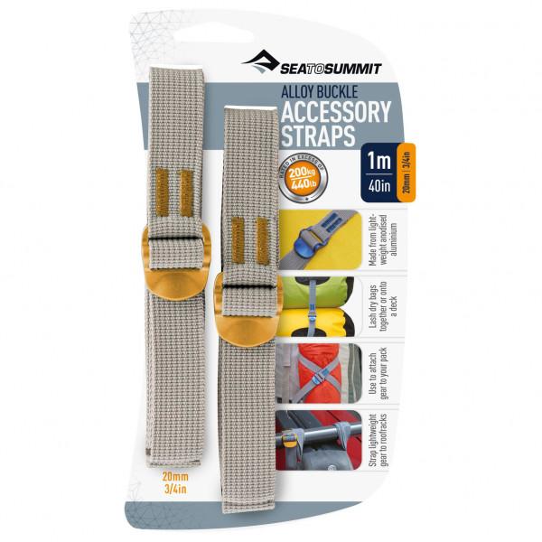 Sea to Summit - 20 mm Alloy Buckle Accessory Strap - Straps