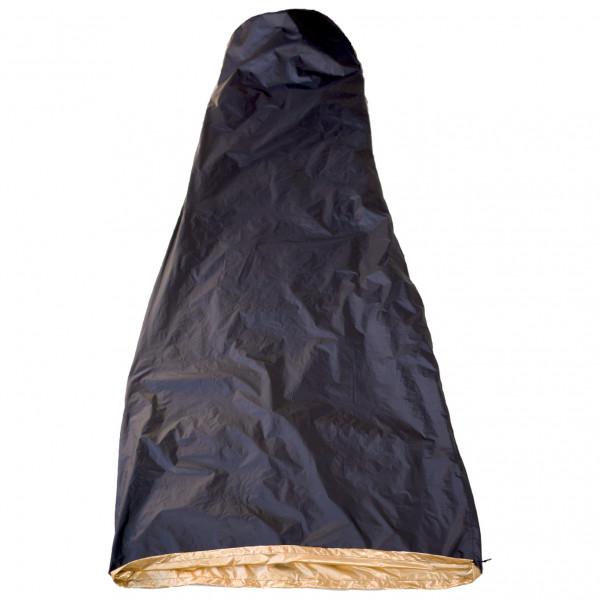Western Mountaineering - Hot Sac VBL Black & Gold - Saco de dormir fibra sintética