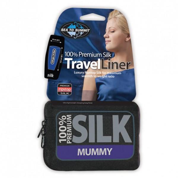 Sea to Summit - Silk Liner Mummy - Drap de sac de couchage