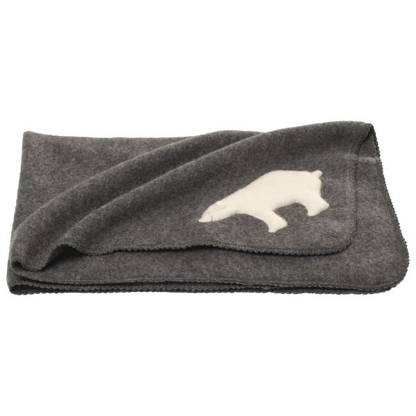 Reiff - Kid's Fleecewickeltuch Mit Eisbär - Blanket
