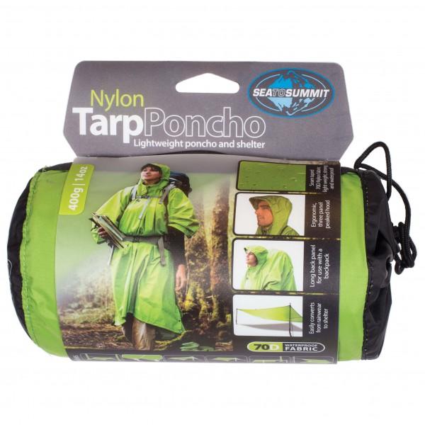 Sea to Summit - Nylon Tarp Poncho - Biwak-makuupussi