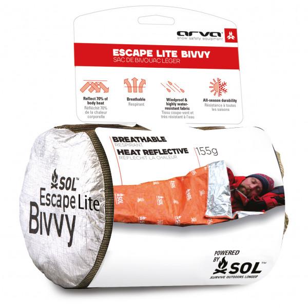 Arva - Bivvy Escape Light - Biwak-makuupussi