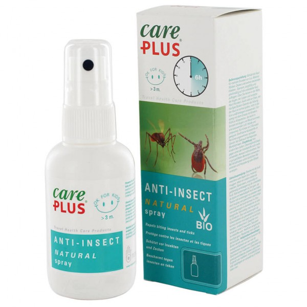 Care Plus - Anti-Insect Natural Spray - Hyttyssuoja