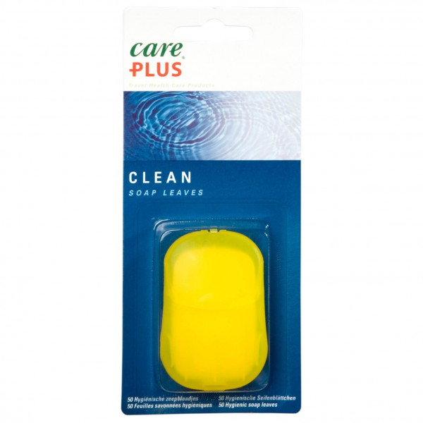 Care Plus - Clean Soap Leaves - Taskusaippua