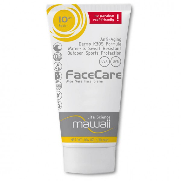 Mawaii - Facecare SPF 10 - Protection solaire
