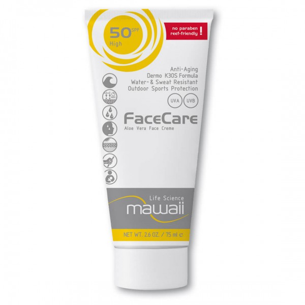 Mawaii - Facecare SPF 50 - Bescherming tegen de zon